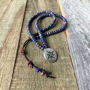 Jewelry - Leather Wrap Bracelet